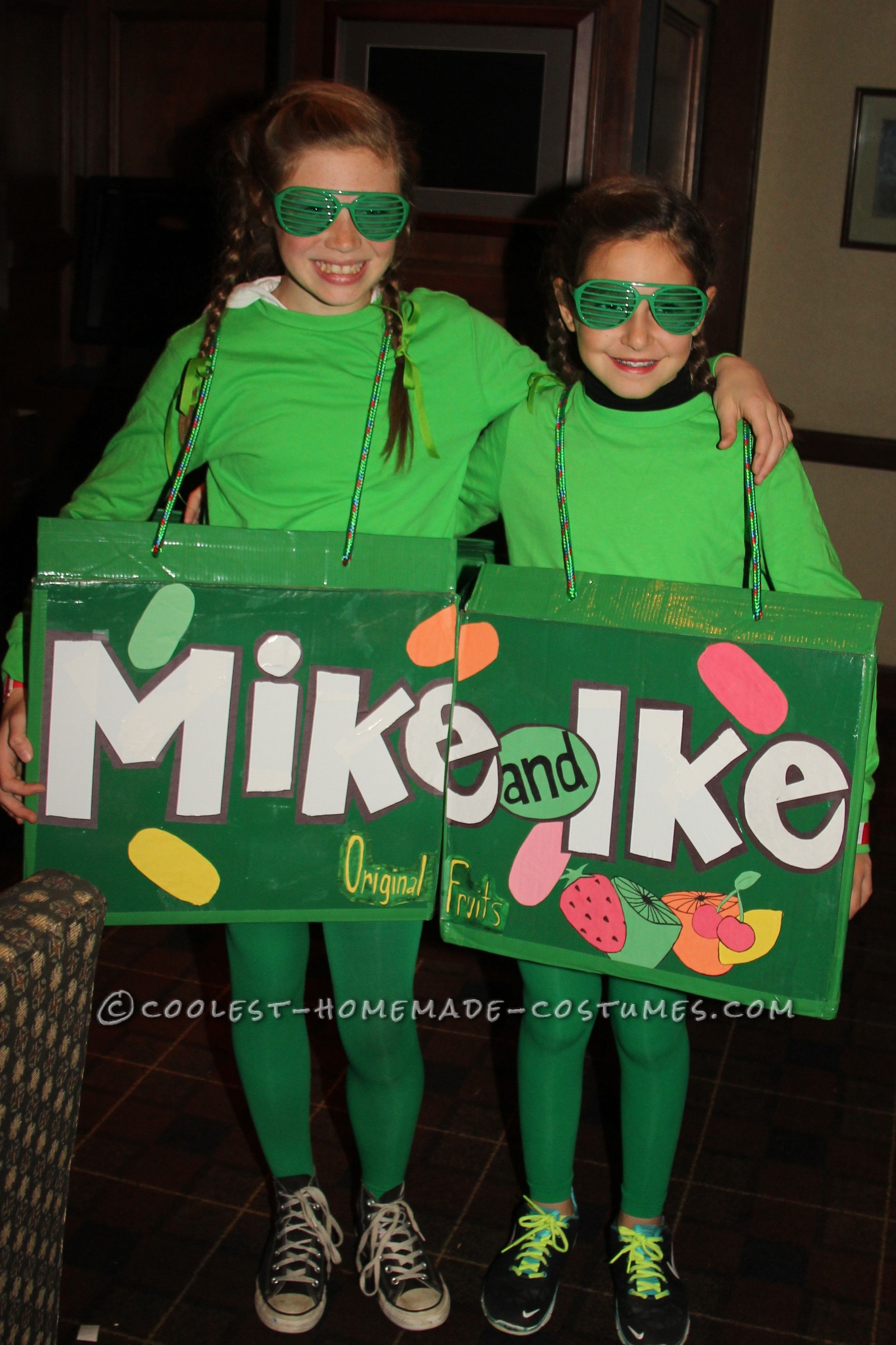 Coolest Mike And Ike Couple Costume For Kids Coolest Homemade
