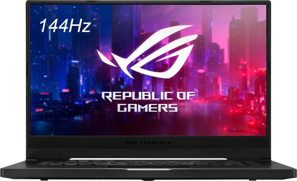 Best Buy Asus Rog Zephyrus G15 15 6 Laptop Amd Ryzen 7 16gb Memory Nvidia Geforce Gtx 1660 Ti Max Q 1tb Ssd Brushed Black Ga502iu Es76 Asus Asus Rog Graphic Card