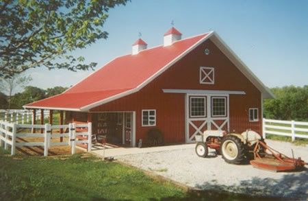 Little Red Barn Little Red 6 Stall Horse Barn Barn Kits