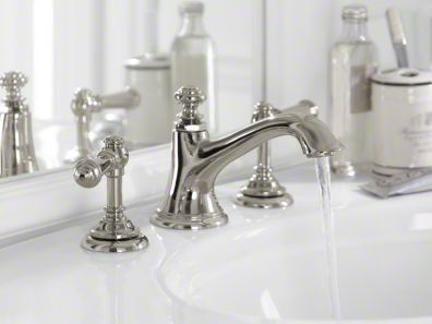 Bathroom Faucet Polished Nickel kohler k-72759-sn vibrant polished nickel artifacts widespread