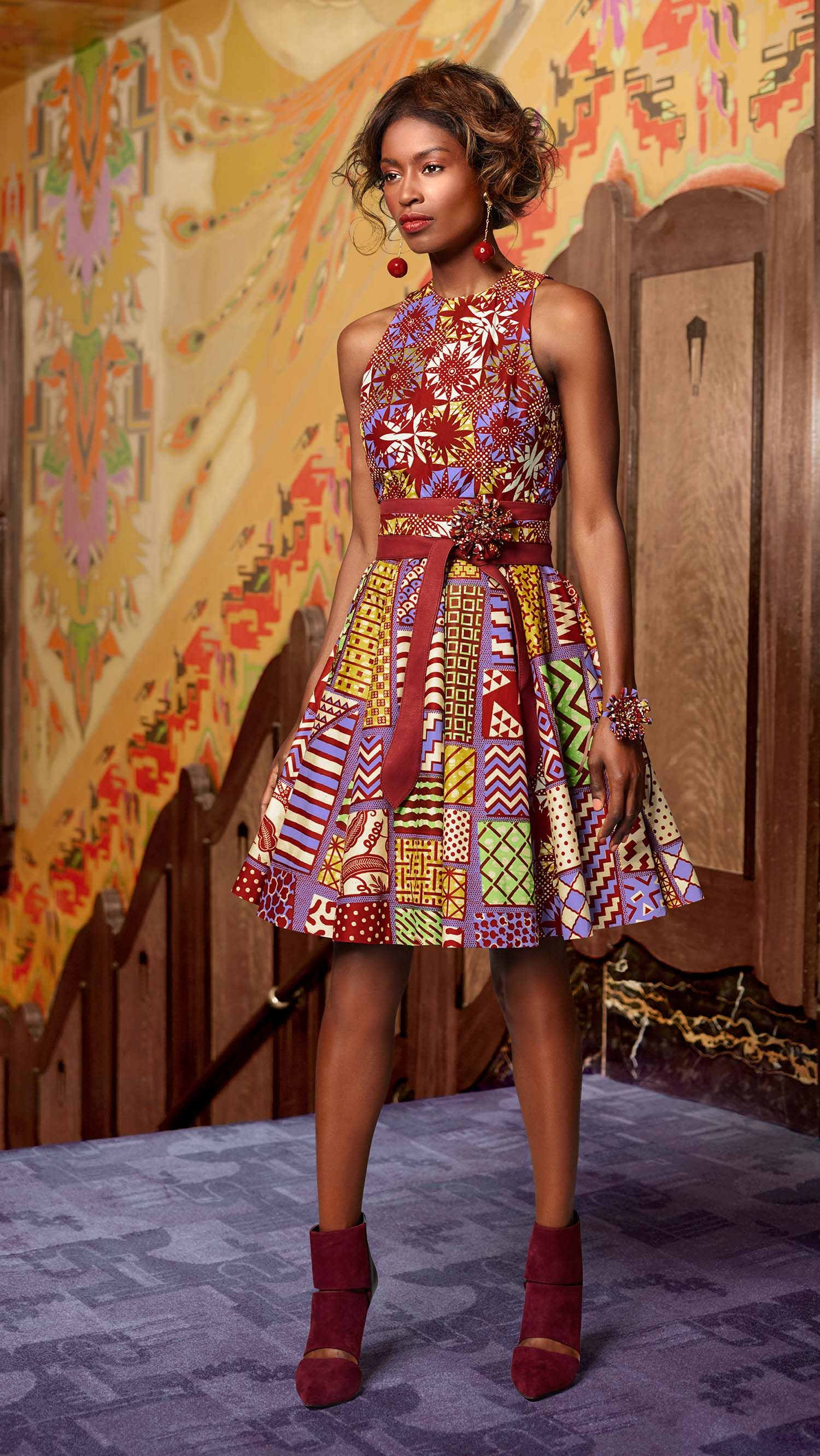 un esprit classique vlisco v inspired mode africaine. Black Bedroom Furniture Sets. Home Design Ideas