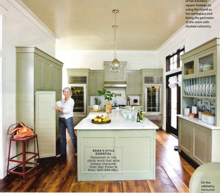 Color Benjamin Moore Nantucket Gray Urban Grace Interiors Kitchens Din