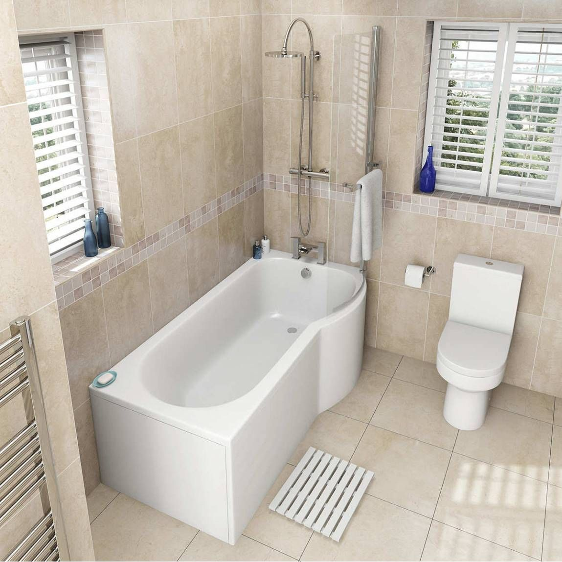 oakley bathroom suite with evesham 1700 x 850 shower bath