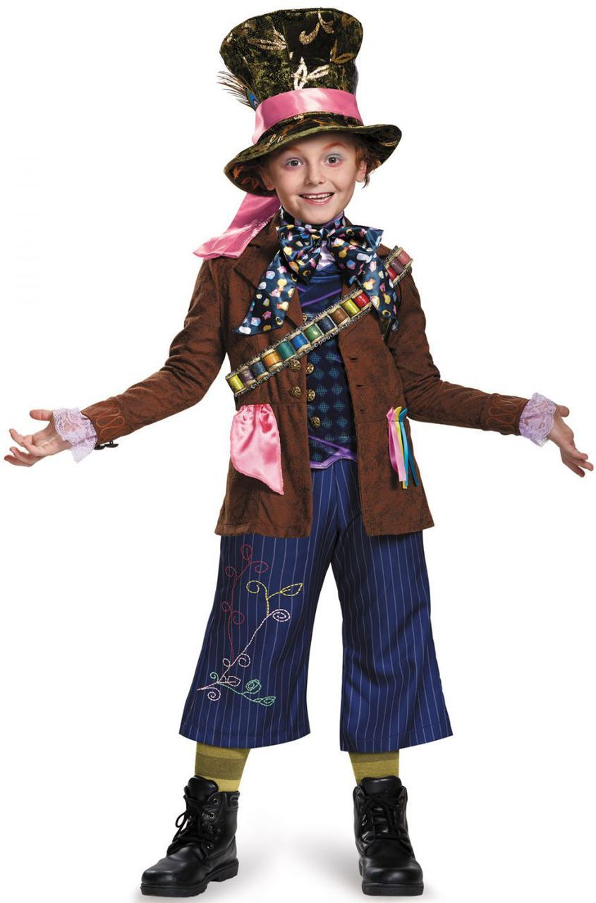 Alice Through The Looking Glass Mad Hatter Prestige Child Costume Mad Affi Mad Hatter Costume Kids Daughter Halloween Costumes Mad Hatter Halloween Costume