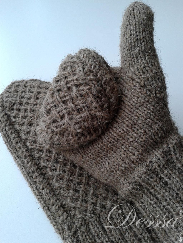 Перчатки вязаные своими руками фото 552
