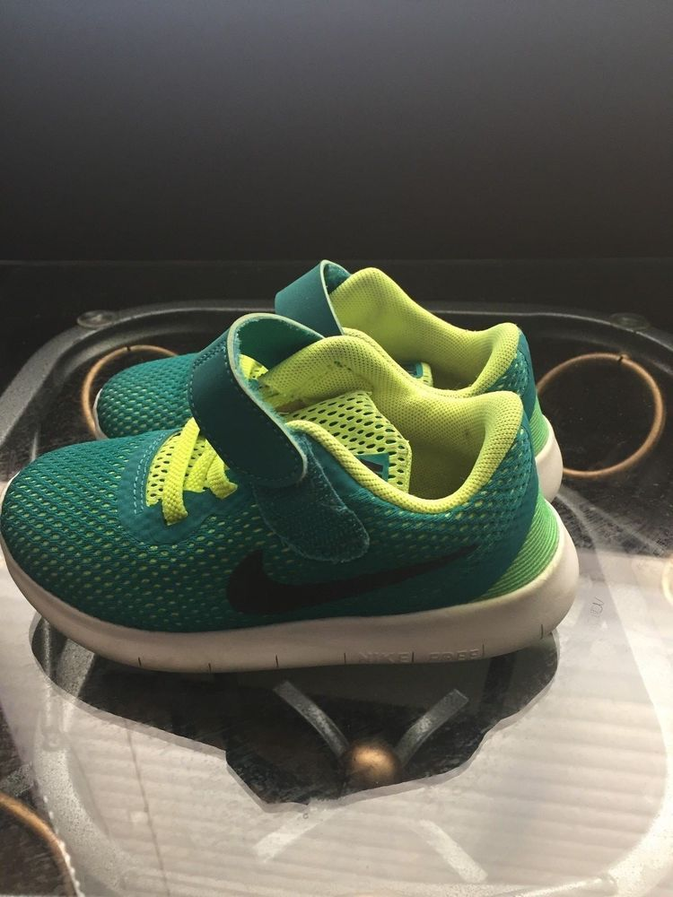 7bec5ecef7837 Nike Toddler Free Run Running Shoes - Teal Black Volt US 9C UK 8.5  fashion   clothing  shoes  accessories  kidsclothingshoesaccs  boysshoes (ebay link)