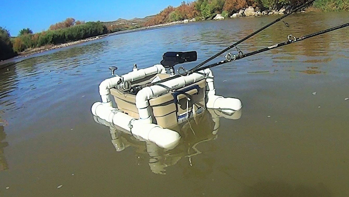 Diy Floating Camera Base And Fishing Rod Holder Fishing