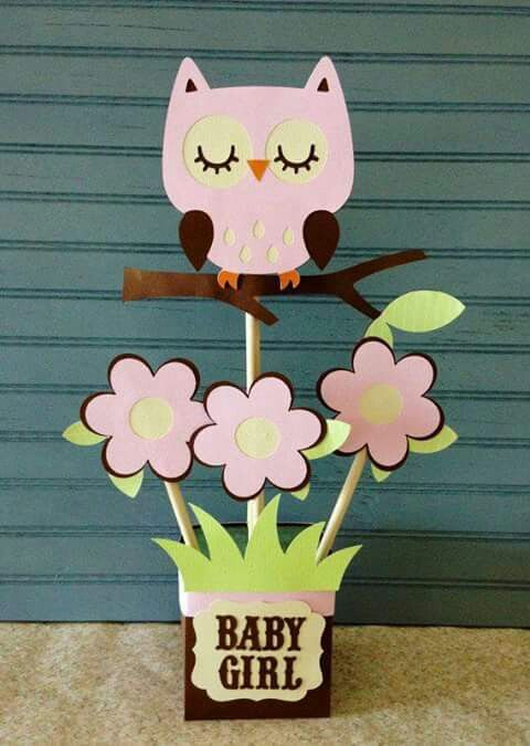 Centro De Mesa Cumple 1 Pinterest Baby Shower Centerpieces