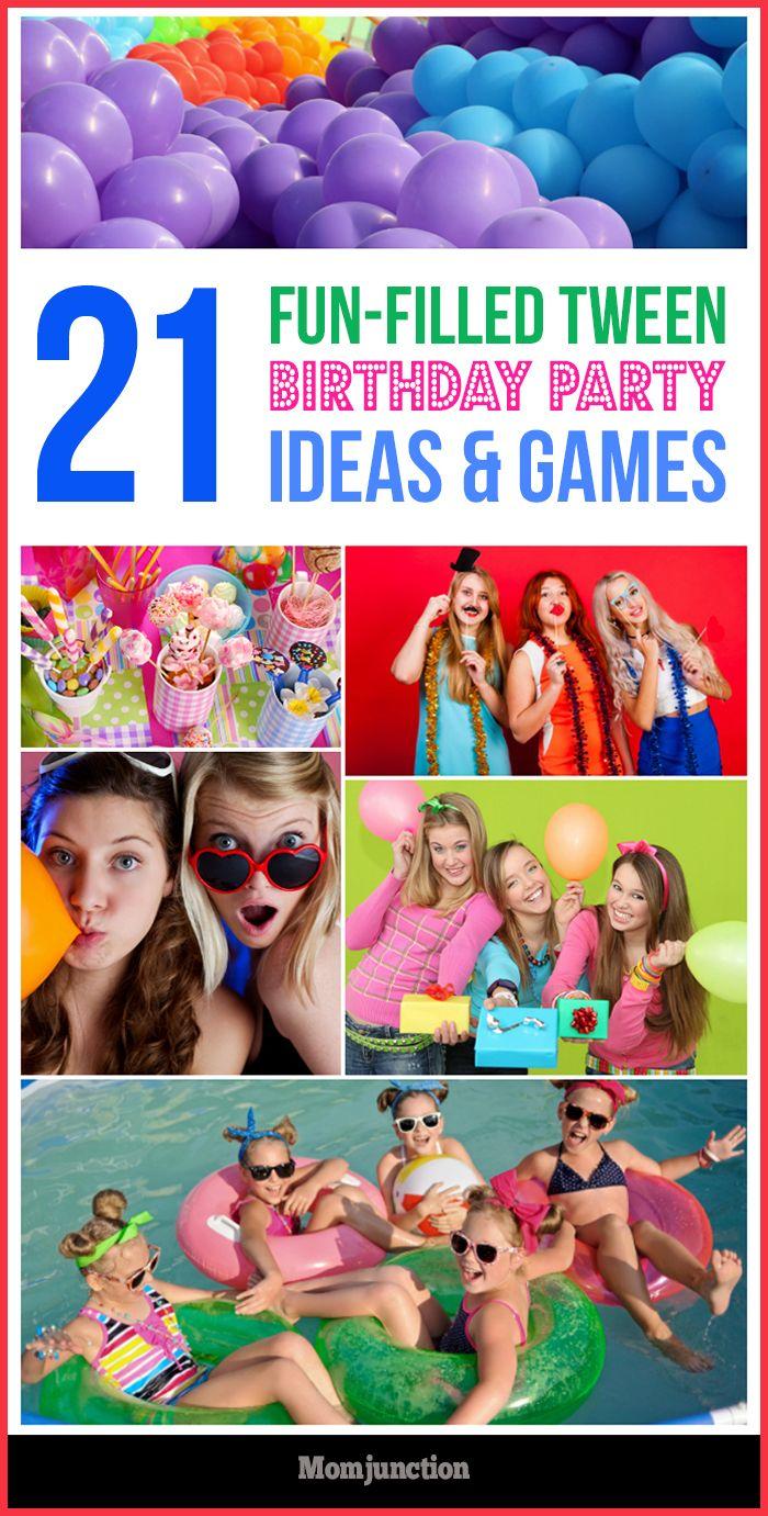 10 Popular Tween Girl Birthday Party Ideas | Tween girls, Girl ...