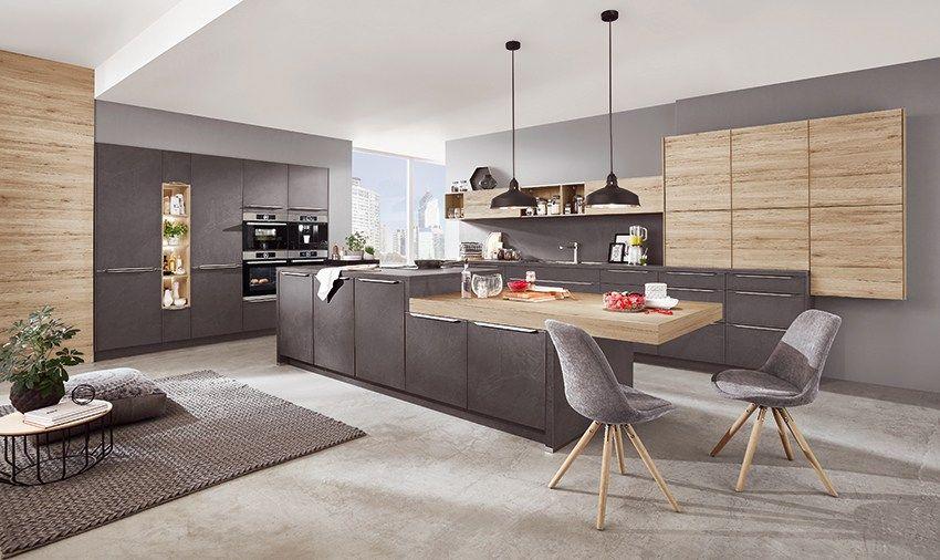 Tendances 2019 Bois Pierre Et Metal Cuisine Moderne Design