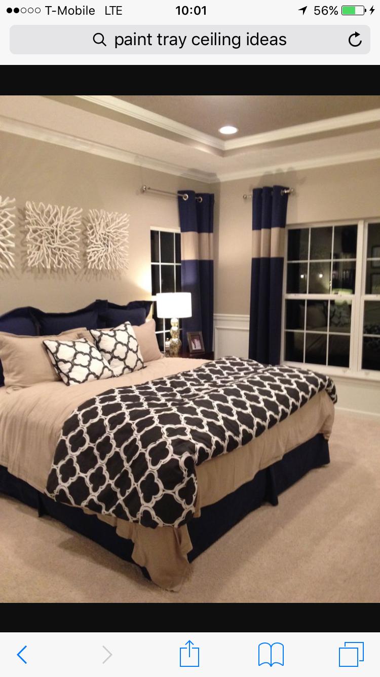 navy blue color scheme remodel bedroom huge master on discover ideas about master dream bedroom id=27590