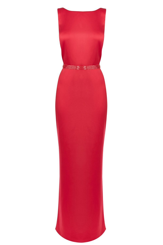 Alexon red maxi dress