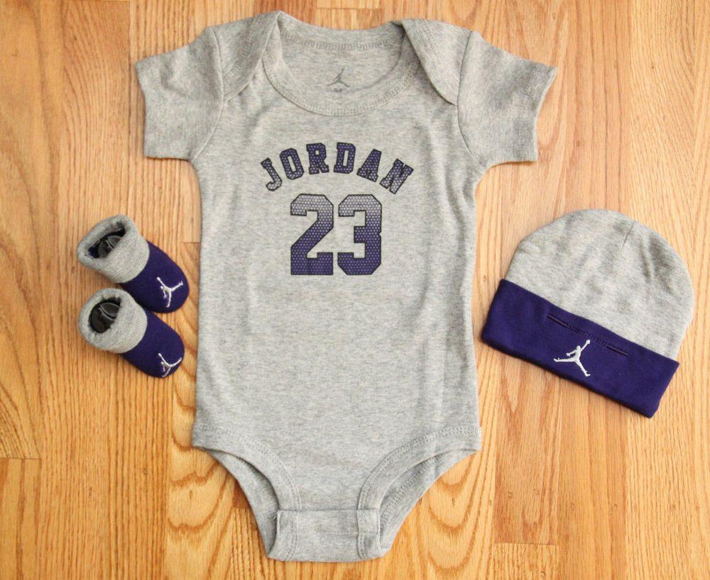Air Jordan Jumpman Baby Boy 3 Piece Set
