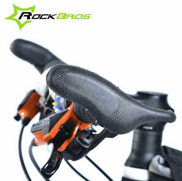 Carbon Fiber MTB Mountain Bicycle Bike Handlebar Bar End Cycling Grips End Bars
