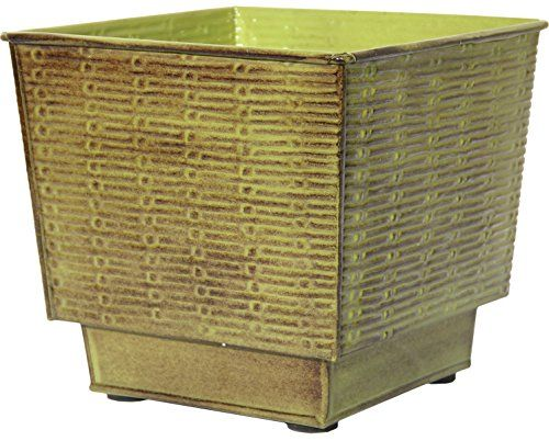 Robert Allen Home Garden MPT01864 Prescott Planter 14 Tansy Green    You  Can Find More Details By Visiting The Image Link.