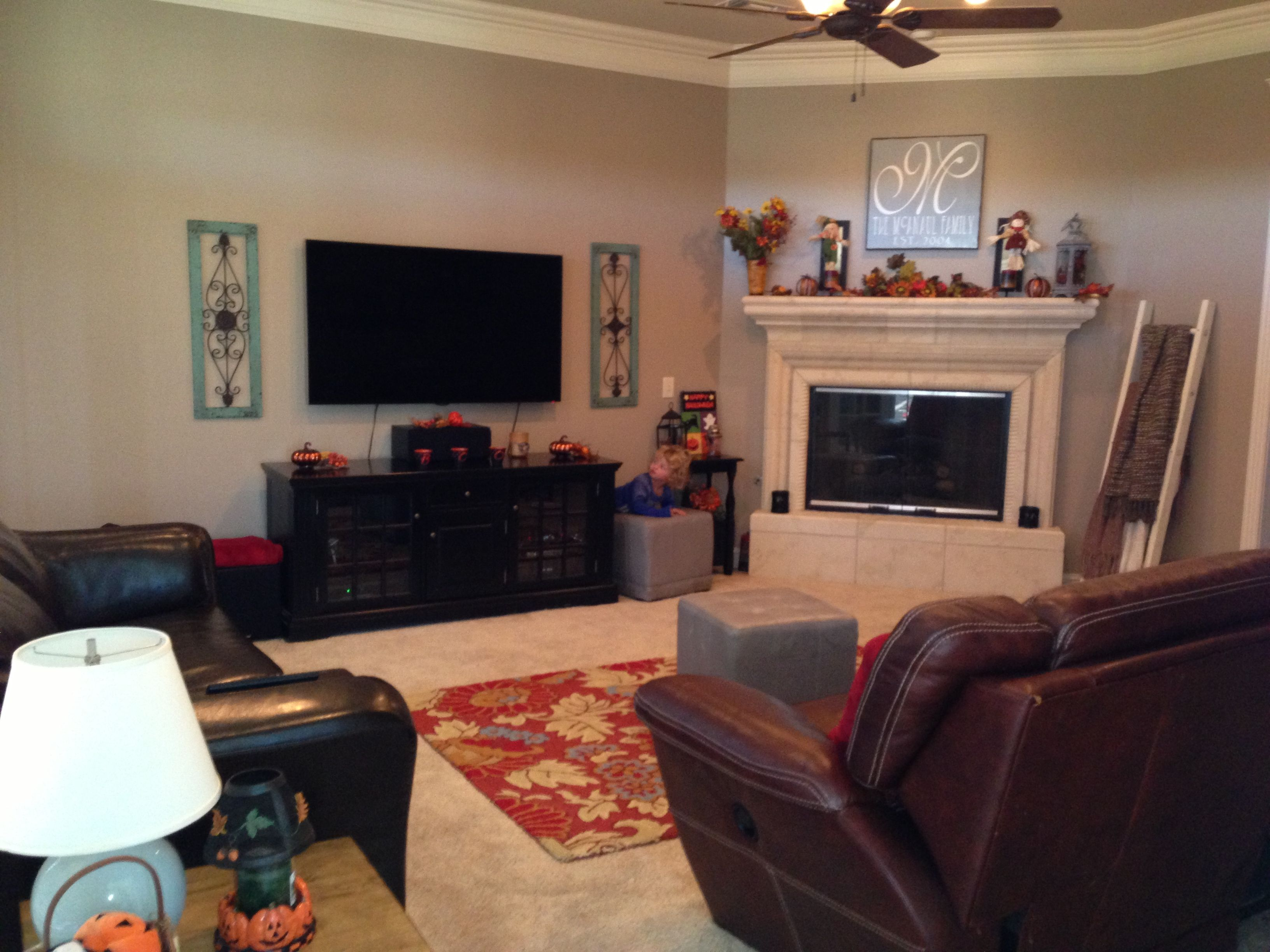Family room color is sherwin williams tony taupe new for Taupe color living room