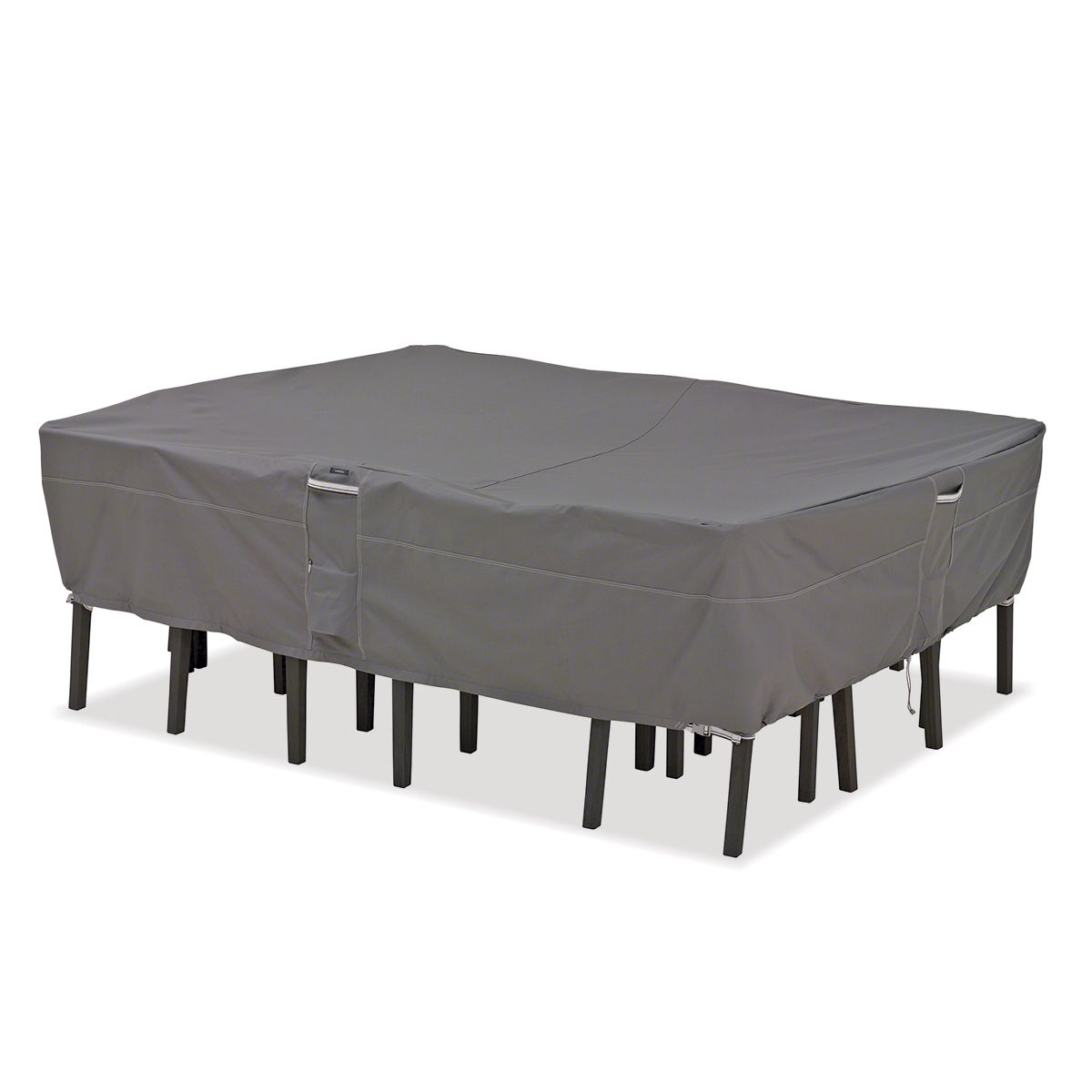 Premium Rectangular Table Set Cover Fits 128w 82d 23h Outdoor