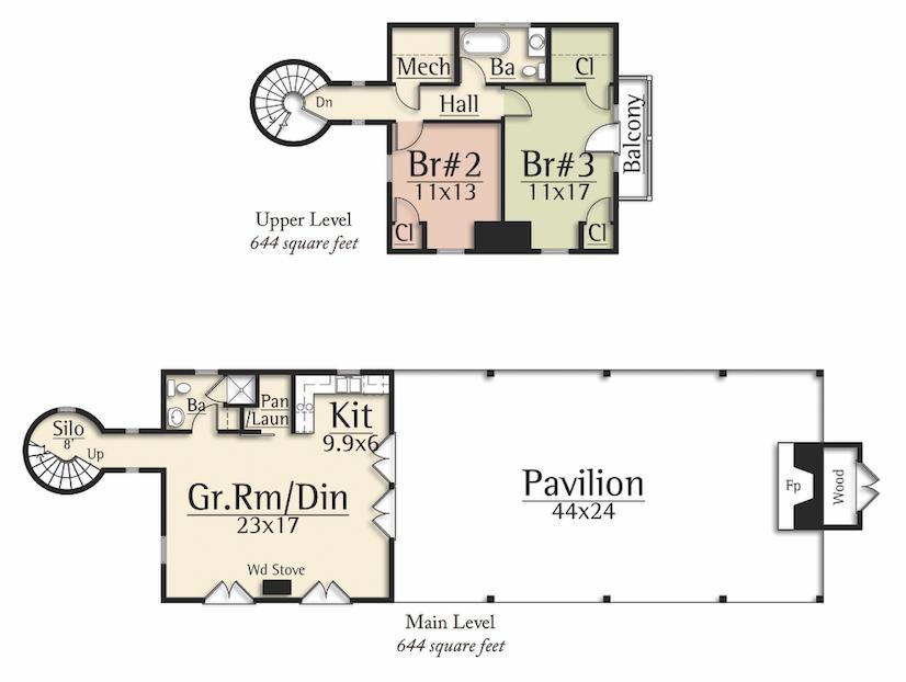 Silo Pavilion Floor Plan From Mosscreek In 2020 Floor Plans Pavilion Design Flooring