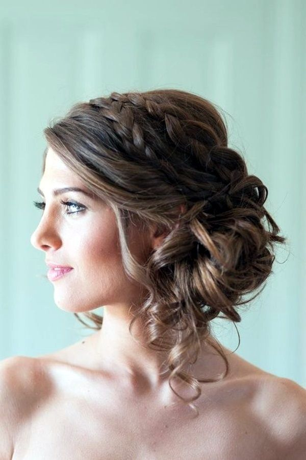 Awesome 45 Medium And Short Hairstyles For Thin Hair Simple Prom Hair Wedding Hairstyles For Long Hair Wedding Hair And Makeup