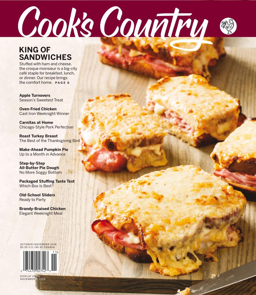 Cook S Country Oct Nov 2018 Cooks Country Magazine Cooking