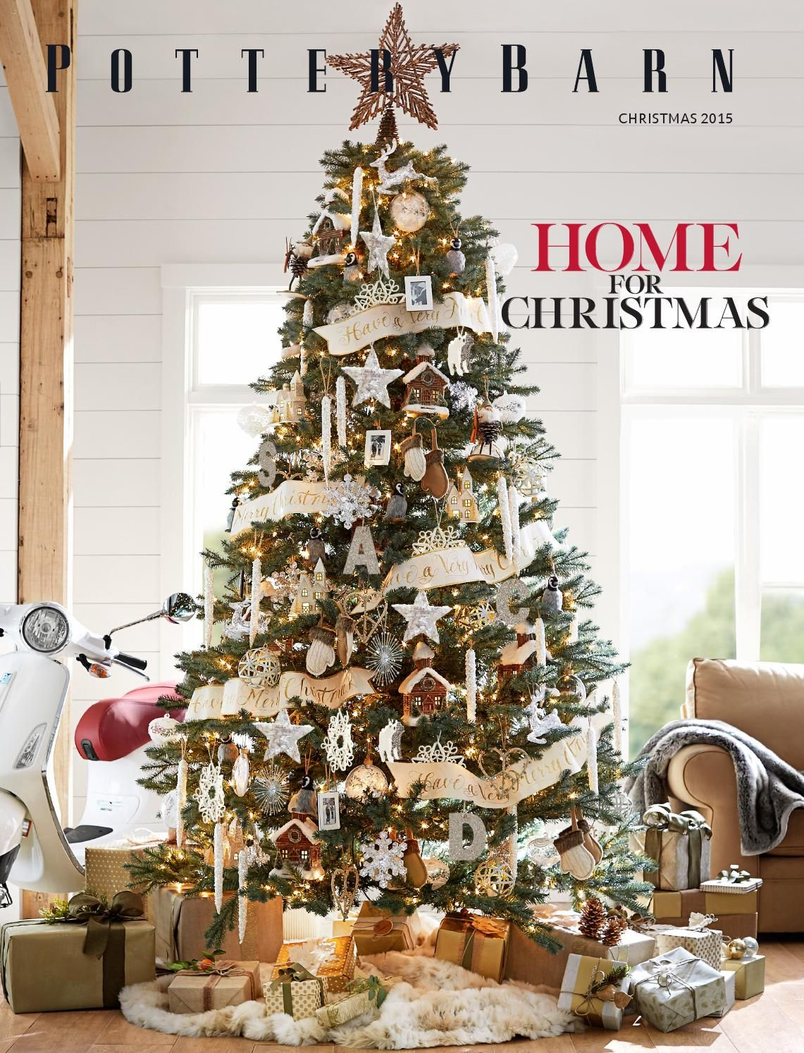 Pottery Barn Australia Christmas Catalogue 2015 Pottery Barn Christmas Tree Pottery Barn Christmas Decor Christmas Tree Decorations
