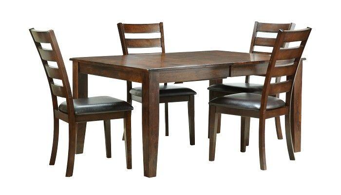 Slumberland Furniture Kona Collection Ladder Back Dining Set