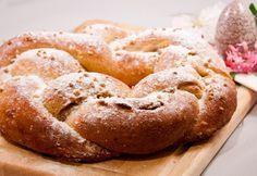 Low Carb Osterhefekranz mit Nussfüllung (mit Sojamehl und Gluten) #pizzateigmittrockenhefe