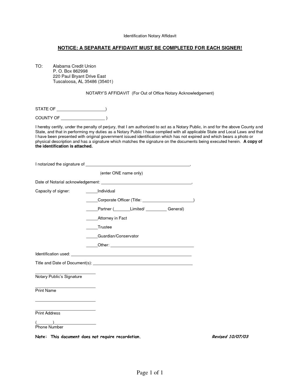 12++ Notary public personal notarized letter inspirations