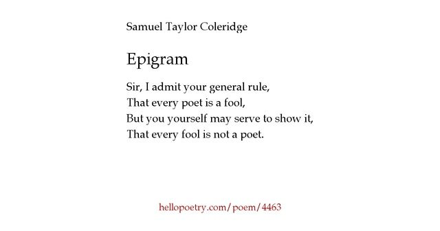 An Epigram Is A Brief Interesting Memorable And Sometimes
