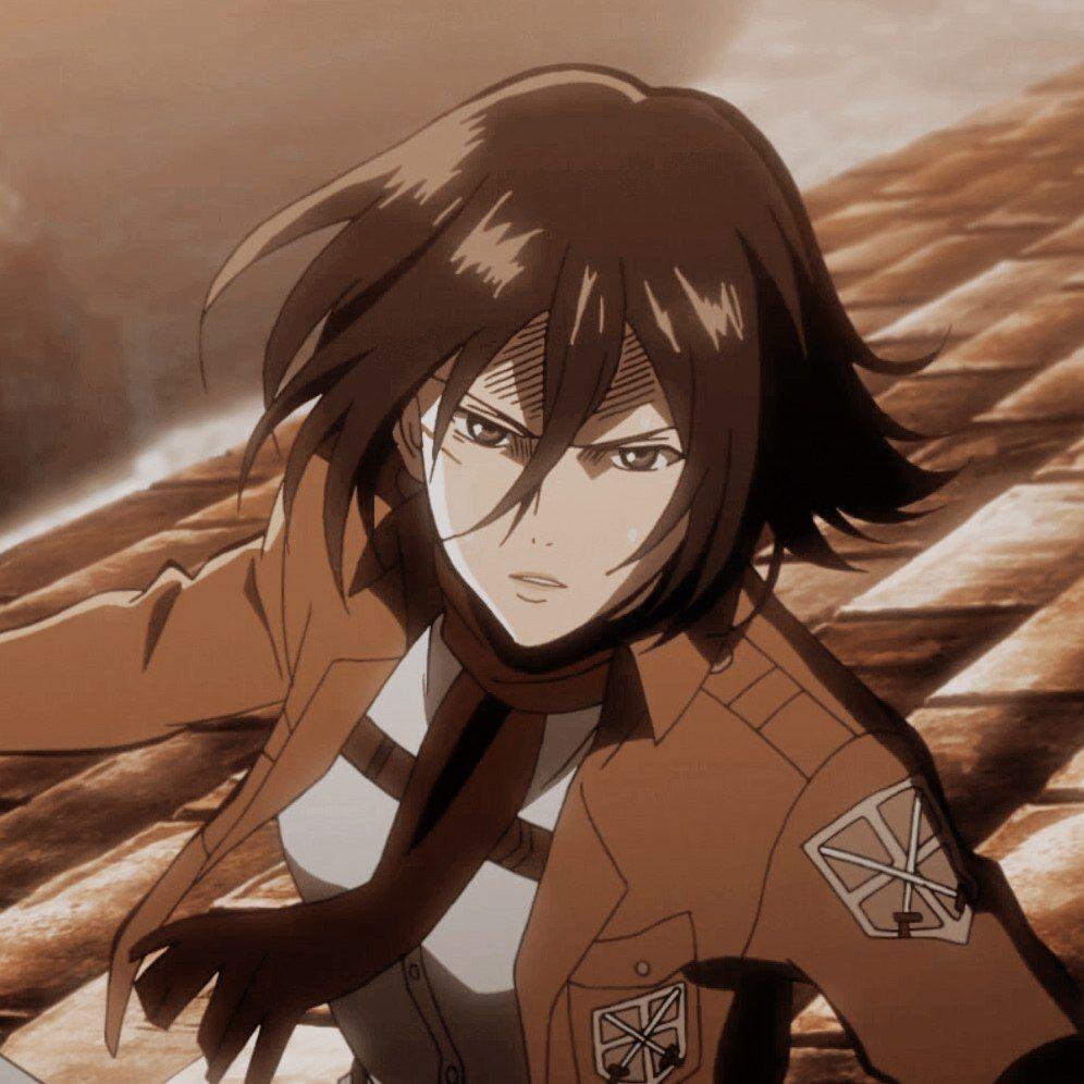 Parkedits Icons Mikasa Ackerman Or If U Save In 2020 Attack On Titan Aesthetic Attack On Titan Anime Titans Anime
