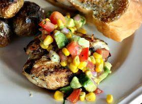 Recipes For Divine Living: Corn Avocado Salsa
