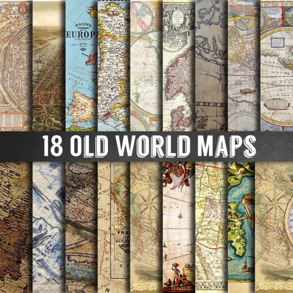 Old world map paper vintage maps vintage map paper map keywords old world map paper vintage maps vintage map paper map scrapbooking paper gumiabroncs Image collections