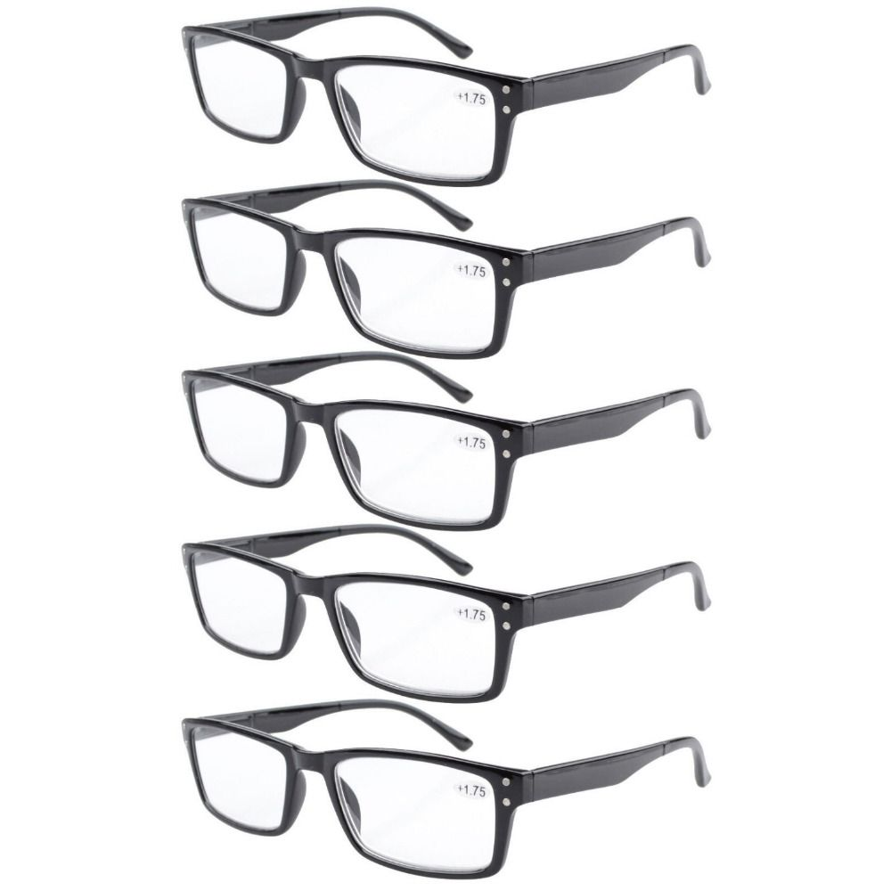 f6068ed2366 R057 Eyekepper 5-pack Spring Hinge Retro Reading Glasses Include Reading  Sunglasses +1 1.25 1.5 1.75 2 2.25 2.5 2.75 3 3.5 4