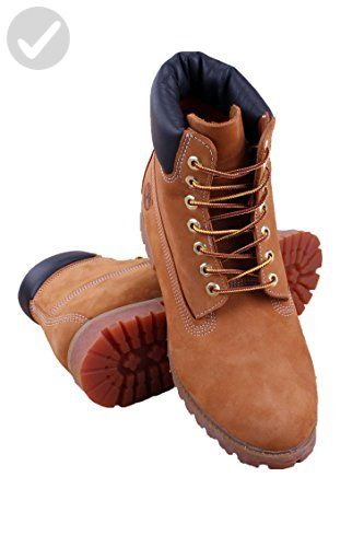 de9ece8e95 Timberland Men's 6 inch Premium Waterproof Boot,Wheat Nubuck,9.5 M US - Mens  world (*Amazon Partner-Link)