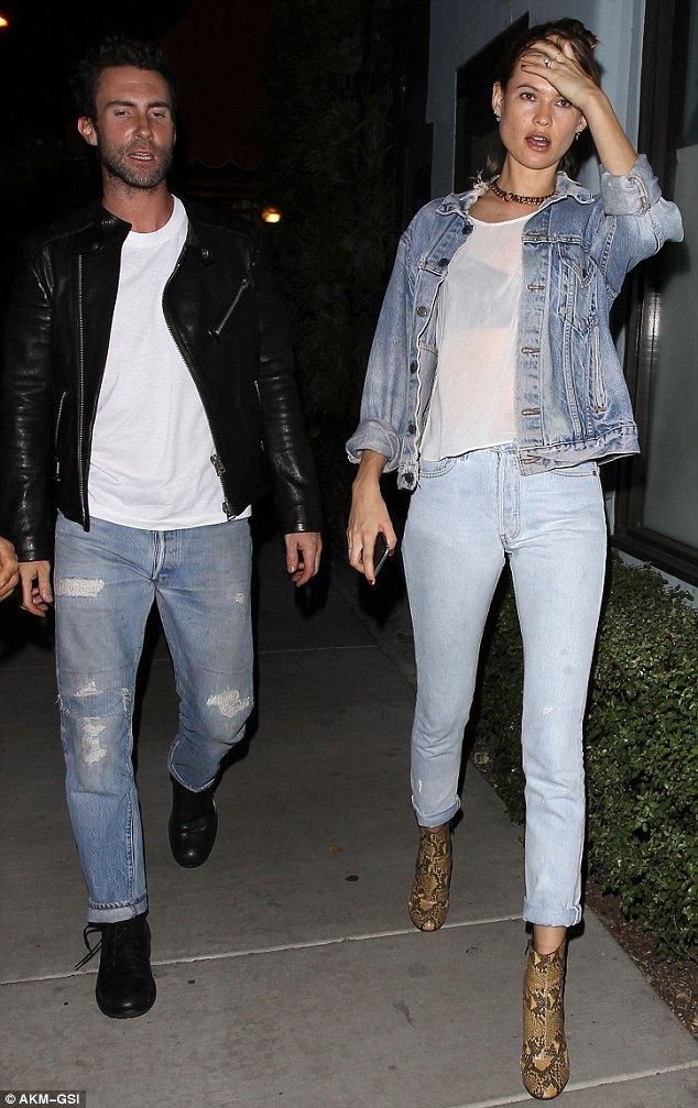 Adam Levine Looks Annoyed With Wife Behati Prinsloo During Date