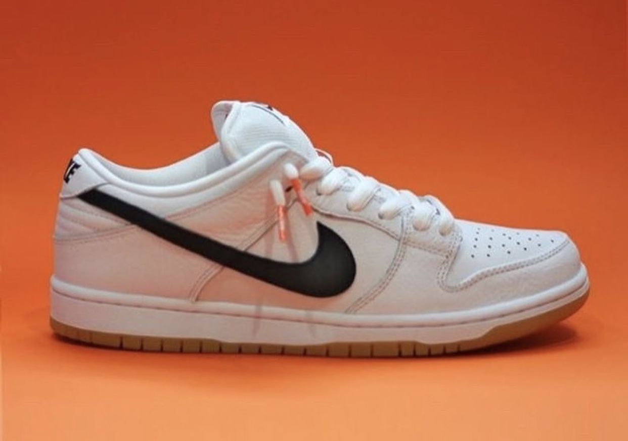 timeless design 50888 b0040 Nike SB Dunk Low Orange Label White Gum Release Info   SneakerFiles