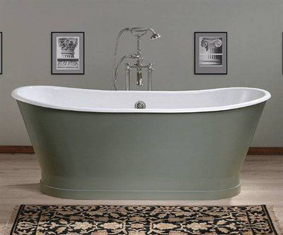 Cheviot 2124w Balmoral Cast Iron Freestanding Tub Fixture