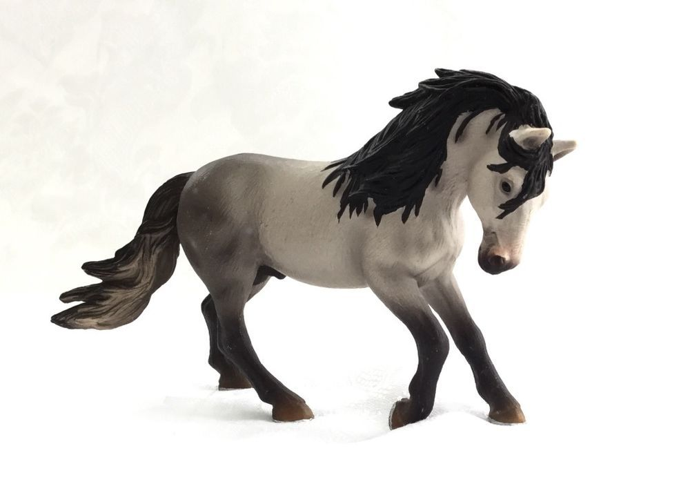 schleich toy horse 2005 andalusian stallion 13607. Black Bedroom Furniture Sets. Home Design Ideas