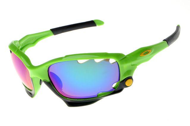 Oakley New Jawbone Sunglasses Green/Black Frame Darkviolet Lens is on the  hot sale.