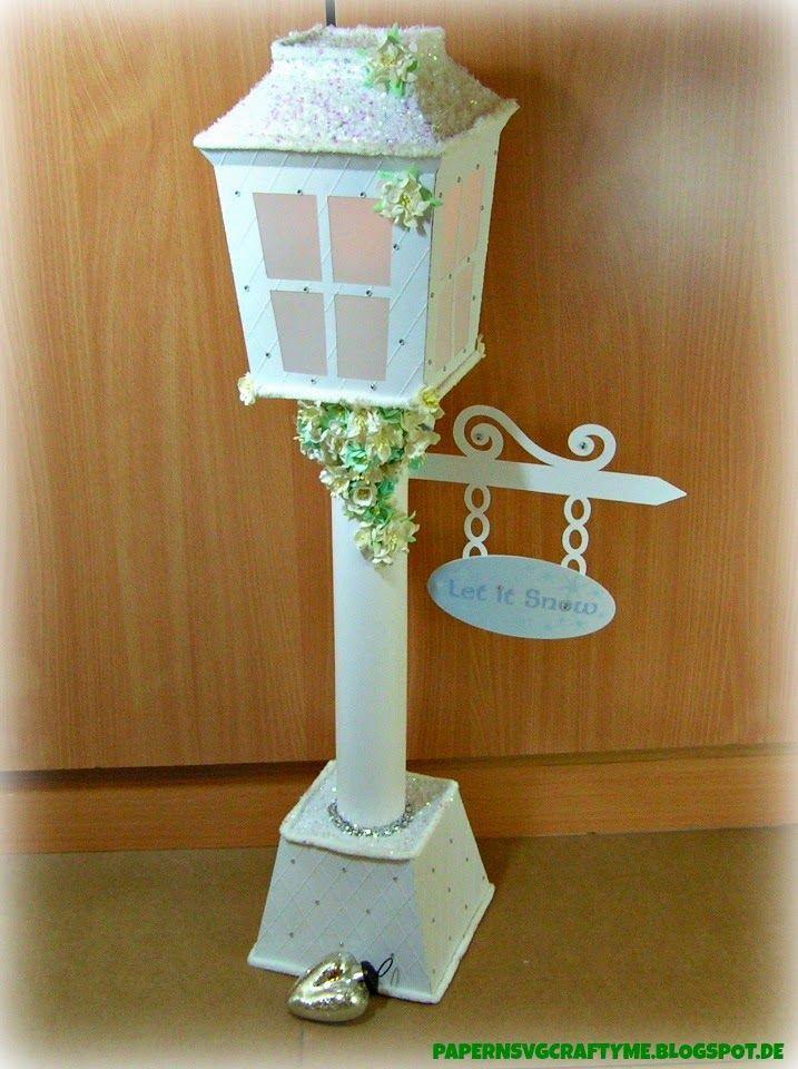 My Big Frozen Christmas Lamp Post Christmas Lamp Post Frozen Christmas Paper Crafts