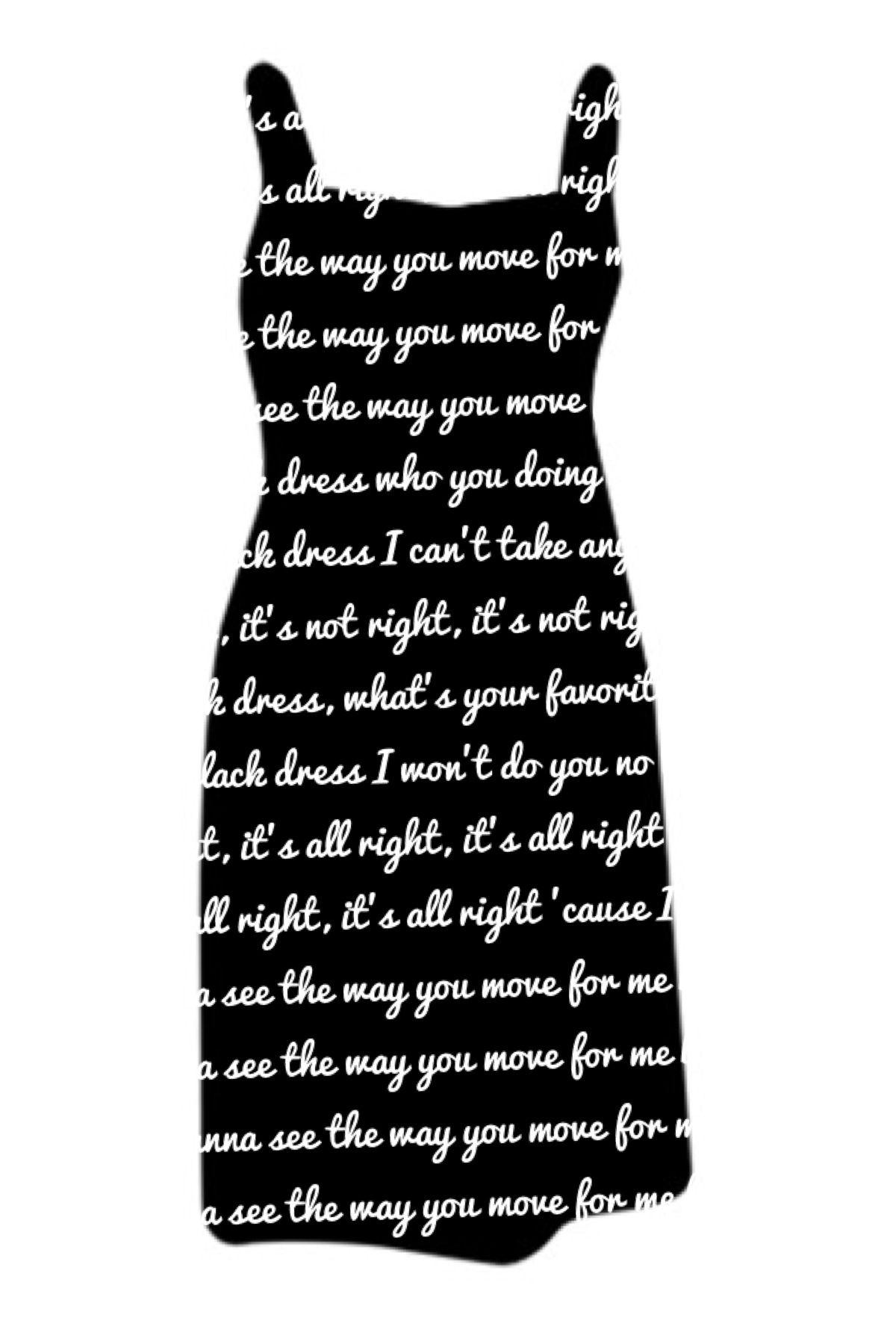 35++ Little black dress lyrics ideas