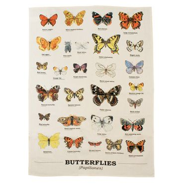 Kitschy Kitchen: Gift Republic Butterfly Tea Towel