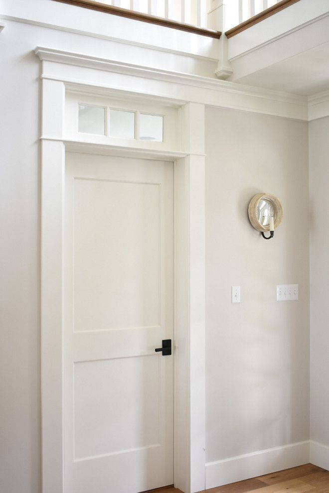 Benjamin Moore Pale Oak I Often Recommend To My Clients It Goes Perfectly With White Dove Trim As We Can See Here