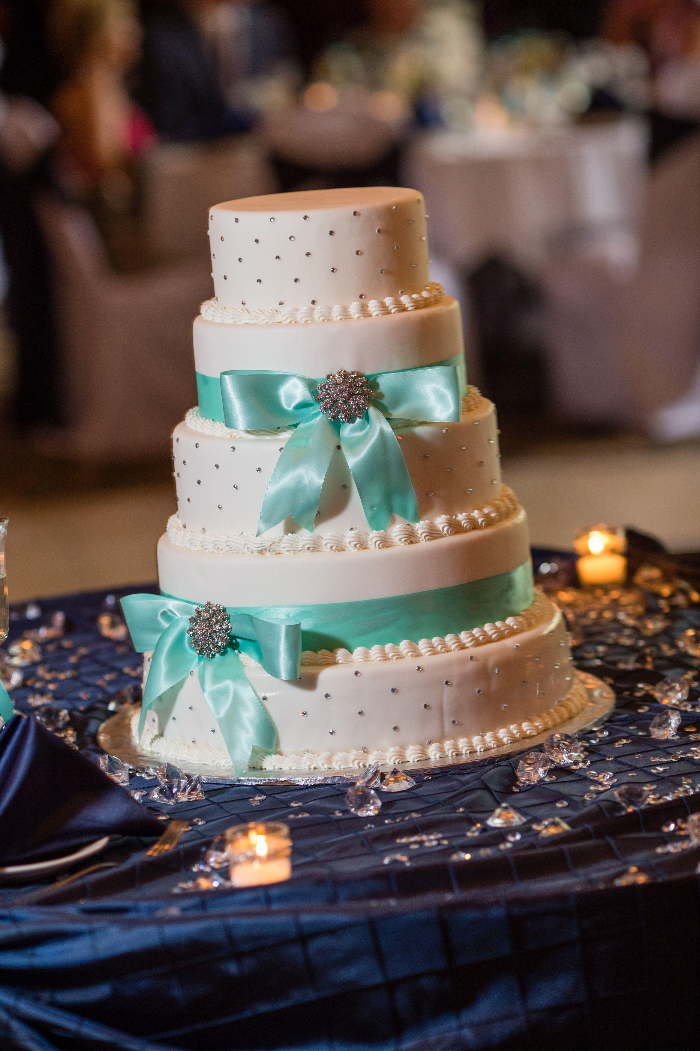 Tiffany Blue Wedding Cake SwatchStudios