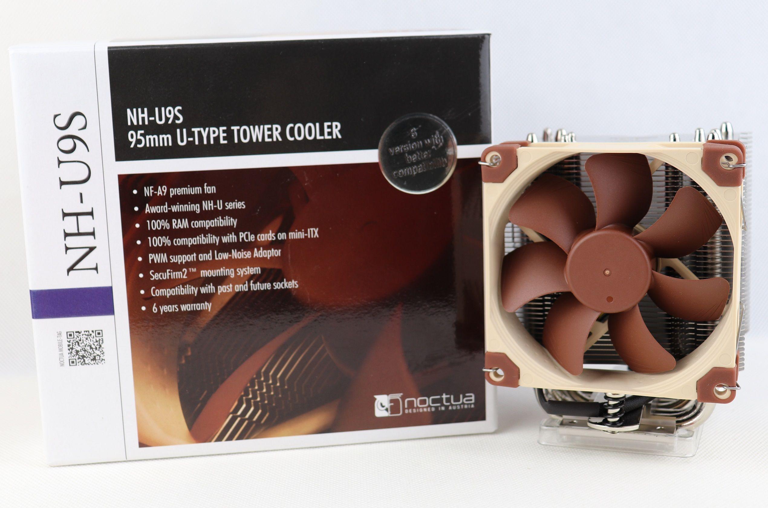 Noctua Nh U9s Cpu Cooler Review Cooler Reviews Unboxing Mini Itx