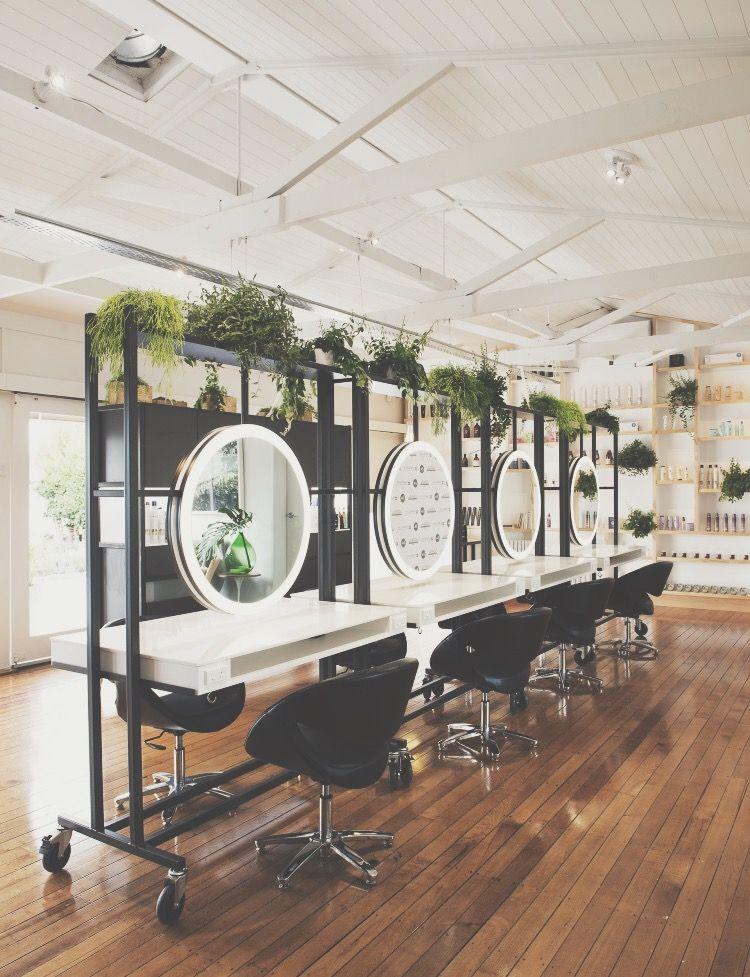 eco•trim inspo hawkandco Hair salon interior, Beauty