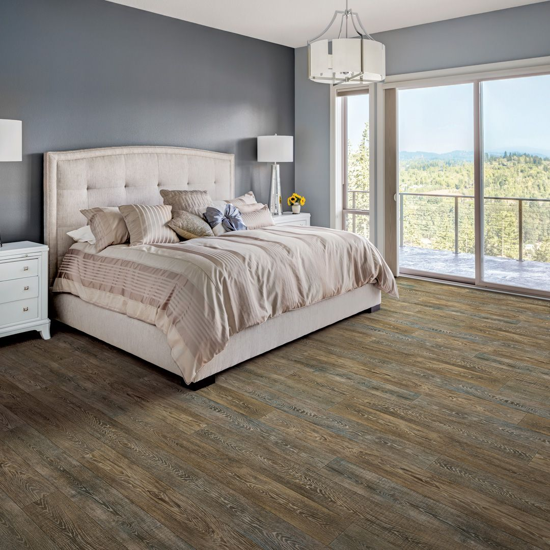COREtec HD Klondike Contempo Oak 50LVR632 Bedroom