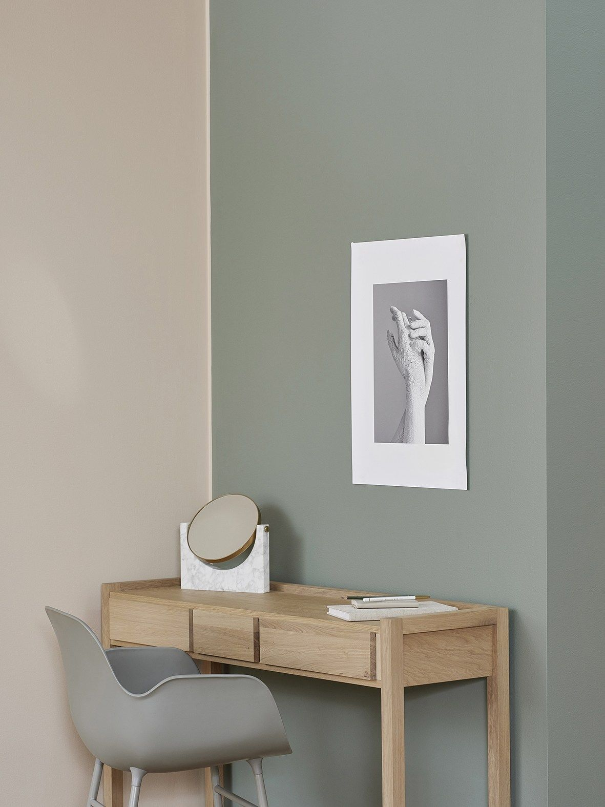 flexa creation early dew : 5 Stunning Colour Blocked Interiors The Edit Contrast Color