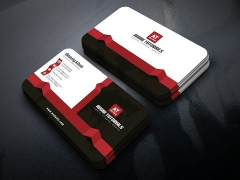 Create A Black Theme Print Ready Business Card Design In Adobe Illustrator You