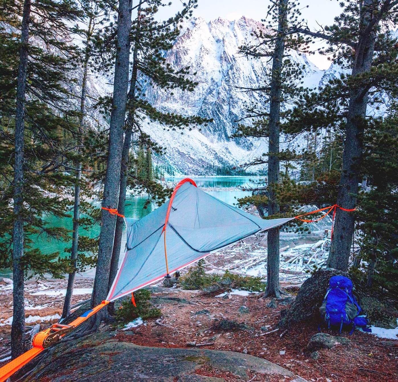 Tentsile Flite A lightweight off-ground tree tent for two & Tentsile Flite: A lightweight off-ground tree tent for two ...
